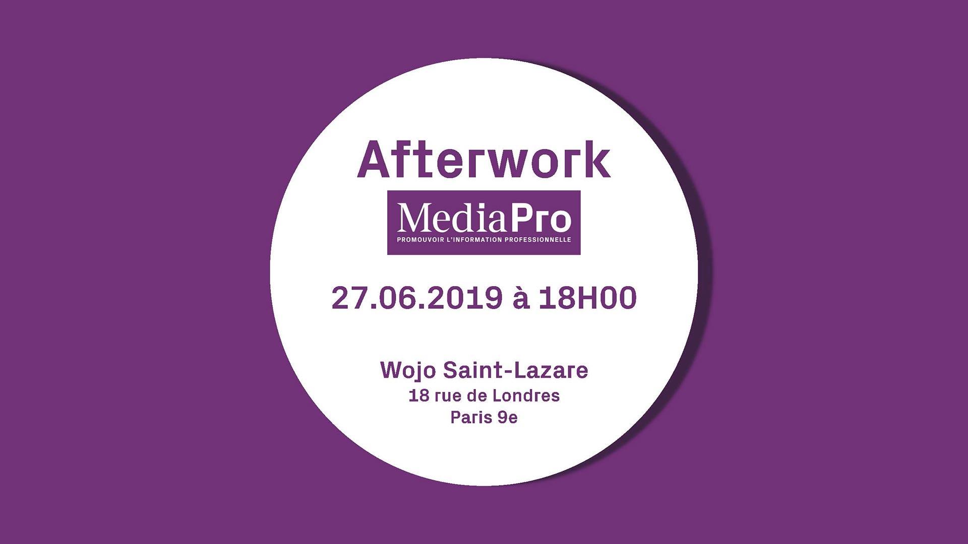 Succès du premier Afterwork MediaPro