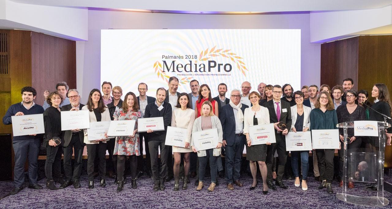 Palmarès 2018 des Médias Professionnels
