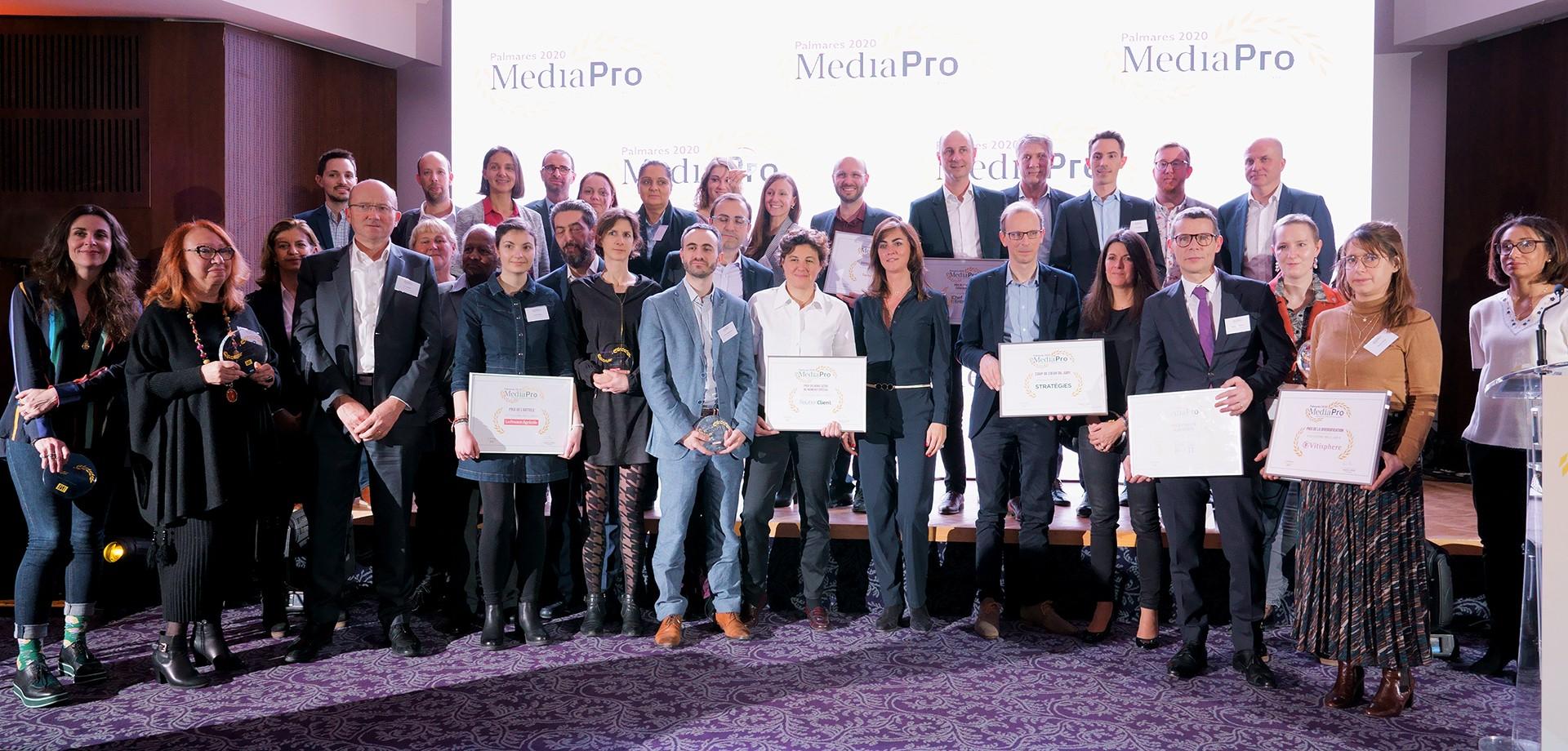 Palmarès MediaPro 2020: Découvrez les lauréats!