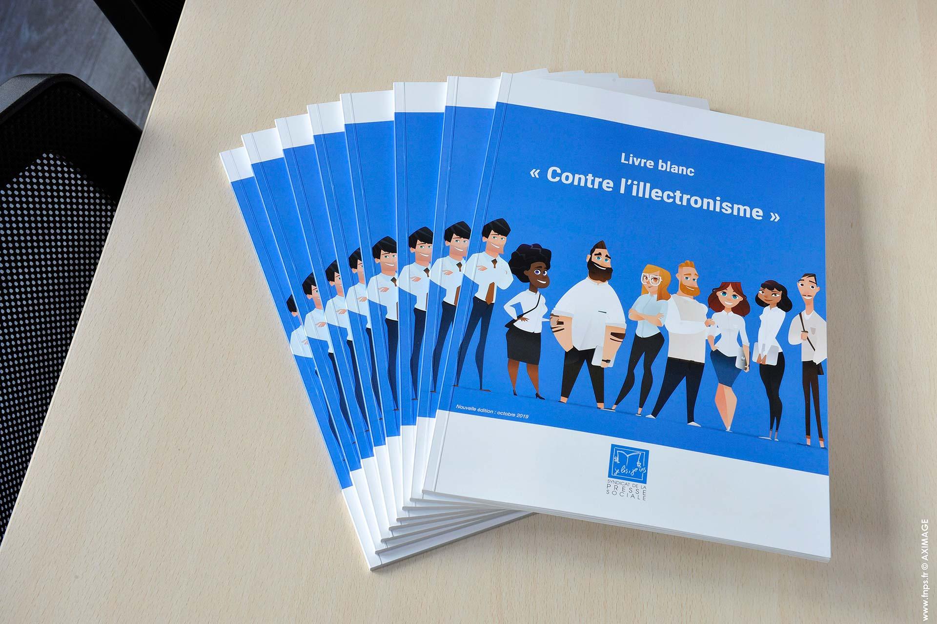 Le SPS publie un Livre blanc «contre l'illectronisme»