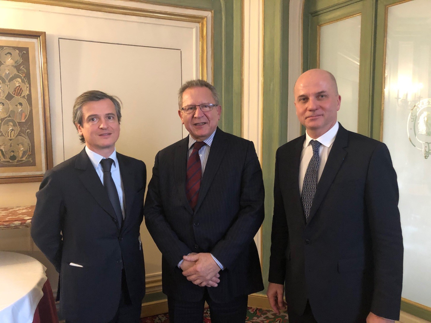 Jean-Guillaume d'Ornano réélu Président du SPEJP