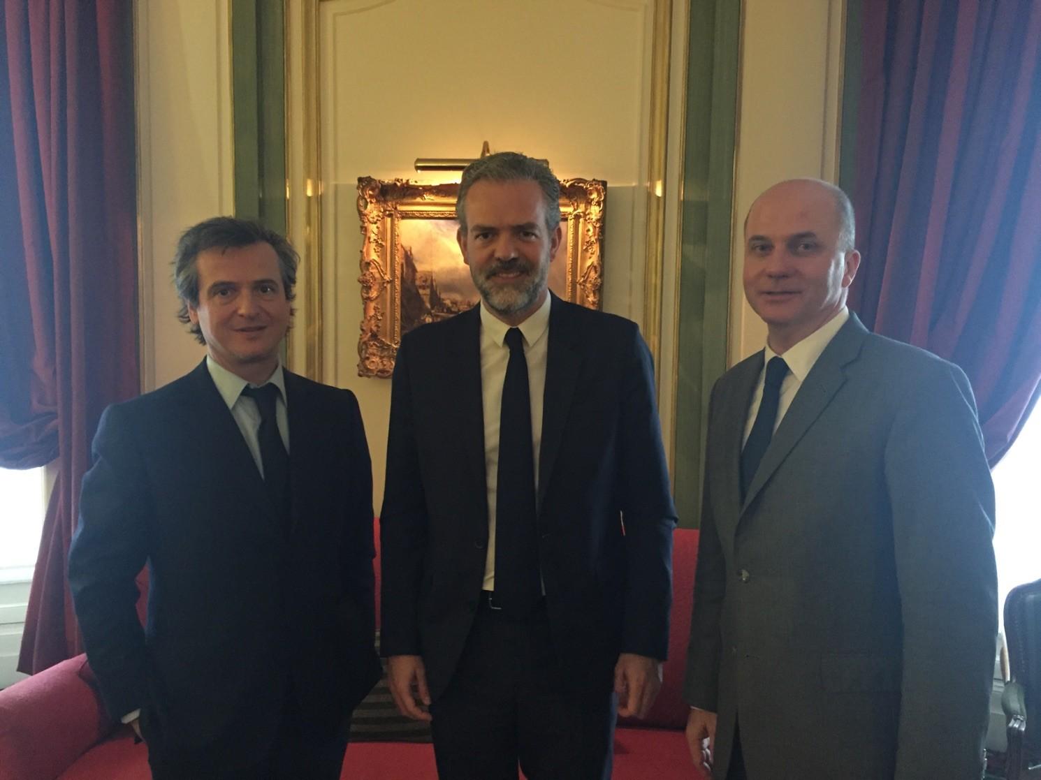 Le SPEJP a reçu Sébastien Missoffe, Directeur général de Google France lors de son Assemblée Générale