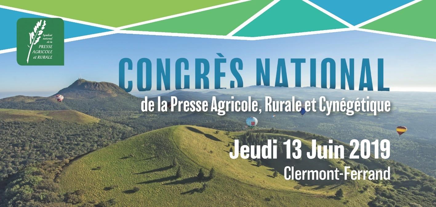 Le congrès 2019 de la presse agricole, rurale et cynégétique en images
