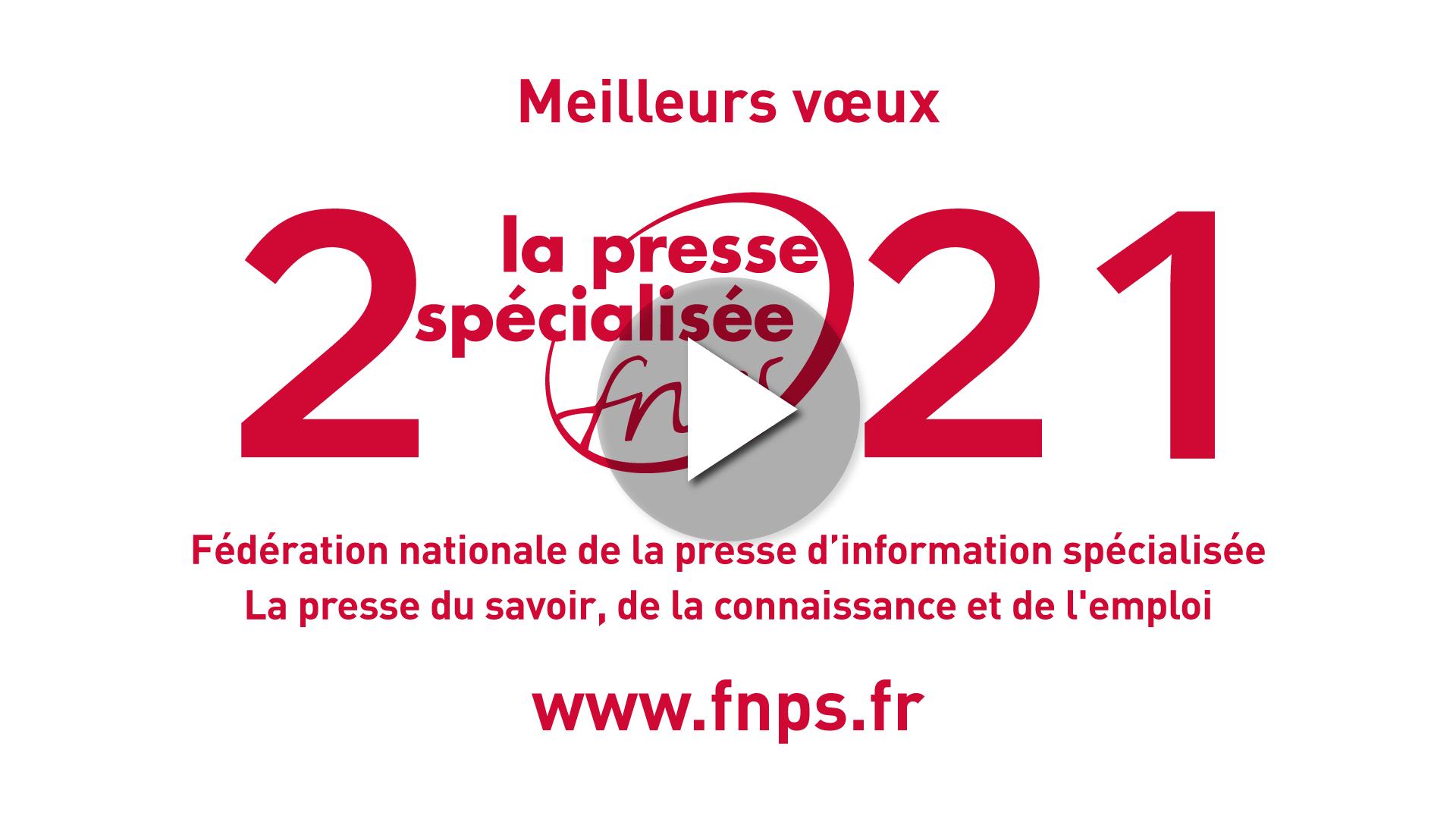 La FNPS vous présente ses vœux