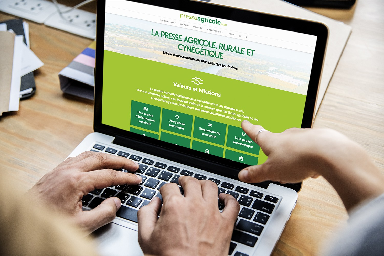 Le site internet www.presseagricole.com fait peau neuve